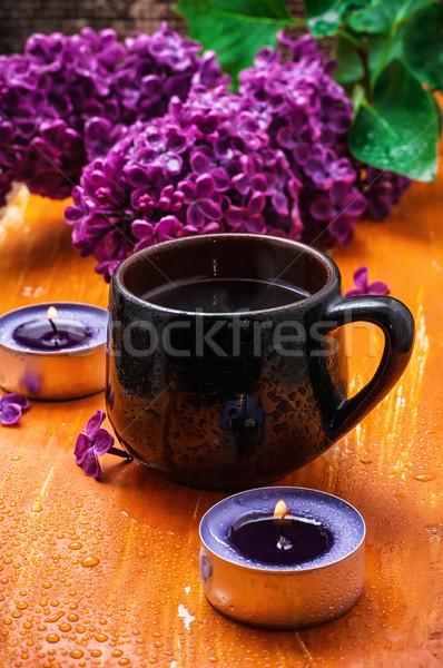 flower tea Stock photo © nikolaydonetsk