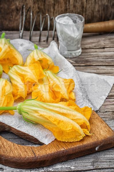 黄色 カボチャ 料理 珍しい ストックフォト © nikolaydonetsk