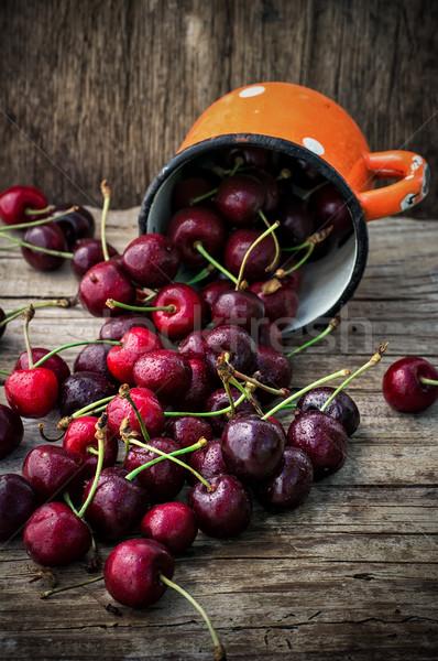 juicy and fresh berries  Stock photo © nikolaydonetsk
