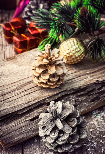 Christmas card Stock photo © nikolaydonetsk