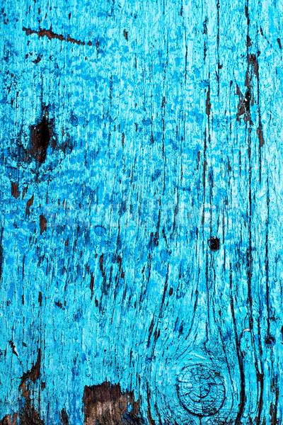 Textura velho conselho azul cor desatualizado Foto stock © nikolaydonetsk