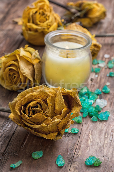 sea aromatic salt for spa treatments Stock photo © nikolaydonetsk