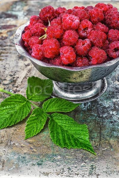 raspberries Stock photo © nikolaydonetsk