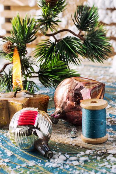 Christmas toy Stock photo © nikolaydonetsk