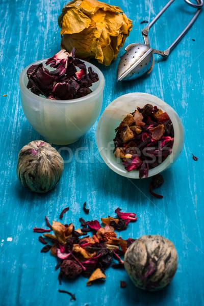 dried tea leaves for brewing tea  Stock photo © nikolaydonetsk