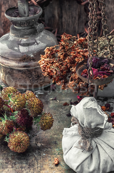 herbal medicine Stock photo © nikolaydonetsk
