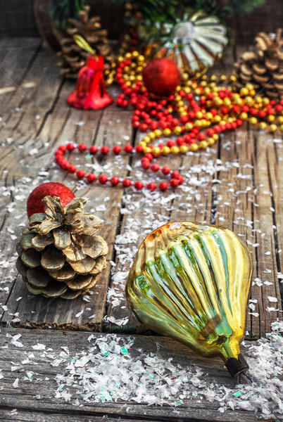 Decorations for Christmas Stock photo © nikolaydonetsk