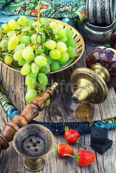 Narghilè frutta gusto dettagli vintage fumare Foto d'archivio © nikolaydonetsk