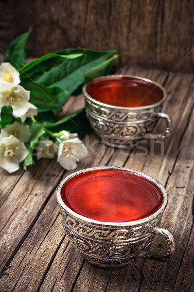 herbal tea Stock photo © nikolaydonetsk