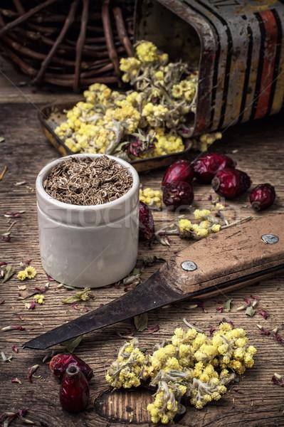 herbal medicine Stock photo © nikolaydonetsk