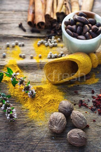 spicy food Stock photo © nikolaydonetsk