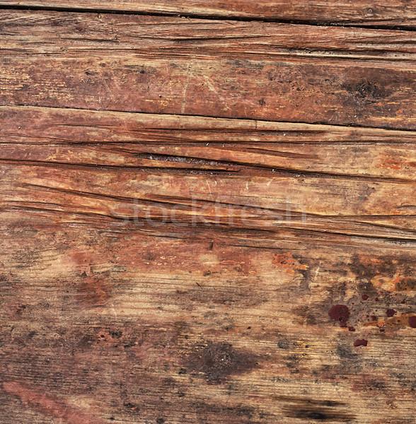 Textuur houten oppervlak verouderd vintage stijl Stockfoto © nikolaydonetsk
