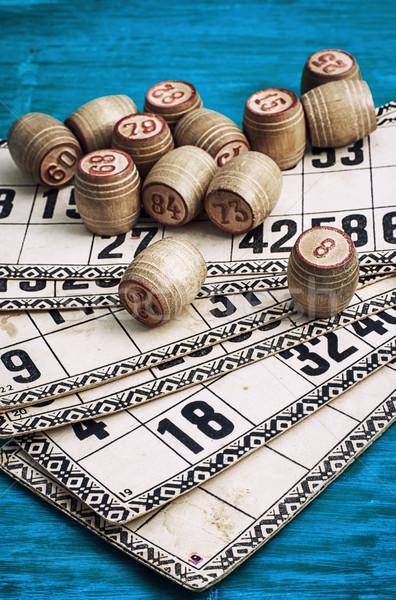 Traditionellen Vermächtnis alten Brettspiel Holz Stock foto © nikolaydonetsk