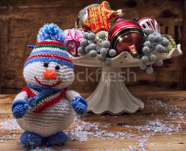 snowman Stock photo © nikolaydonetsk
