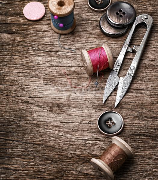 устаревший инструменты Кнопки старые текстуры Сток-фото © nikolaydonetsk
