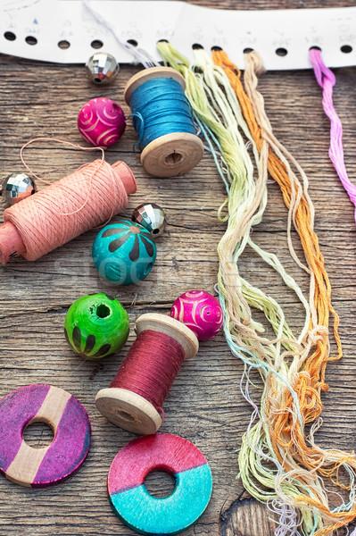 accessories for needlework Stock photo © nikolaydonetsk