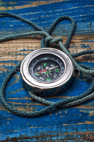 old-fashioned compass  Stock photo © nikolaydonetsk