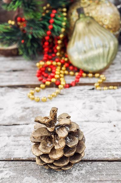 Decoration for the new year Stock photo © nikolaydonetsk