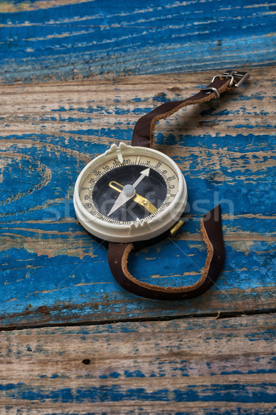 old-fashioned compass  Stock photo © nikolaydonetsk