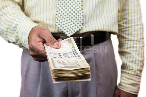 Asian zakenman uit 500 Stockfoto © nilanewsom