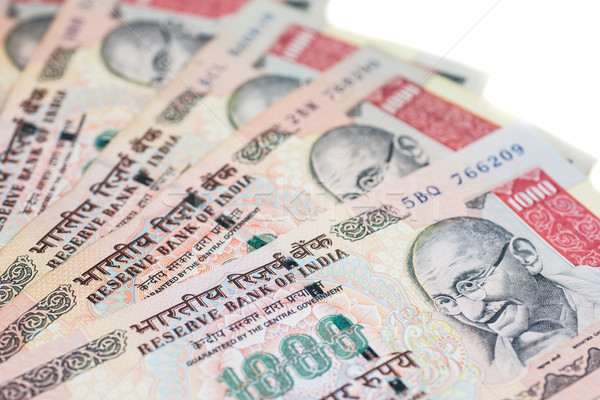 Thousand Rupee Notes Stock photo © nilanewsom