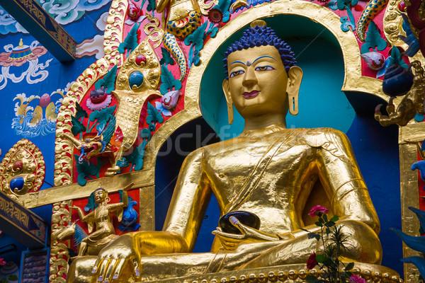 Buddha dorato divinità Foto d'archivio © nilanewsom