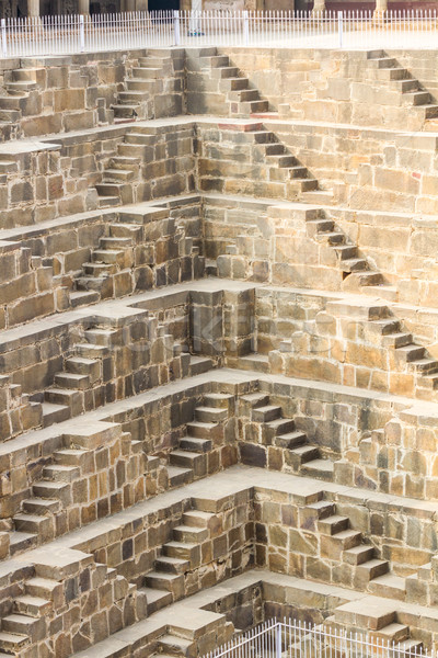 Stappen gebouw reizen steen baksteen trap Stockfoto © nilanewsom