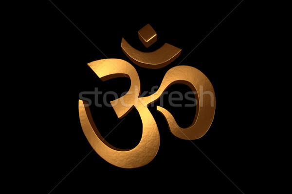 Golden Om Stock photo © nilanewsom
