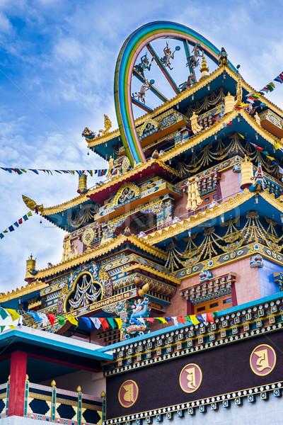 Gouden tempel klooster zuiden Indië Stockfoto © nilanewsom