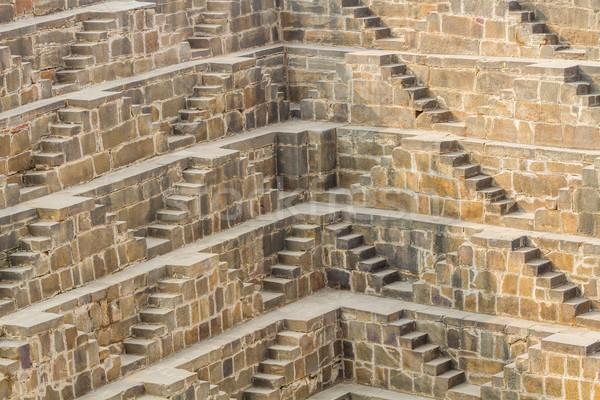 Lépcső épület utazás kő tégla lépcsősor Stock fotó © nilanewsom