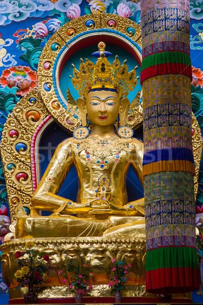 Altın büyük yaldızlı tanrı parlak Stok fotoğraf © nilanewsom