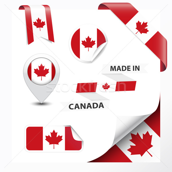 Made In Canada Collection Stock photo © NiroDesign