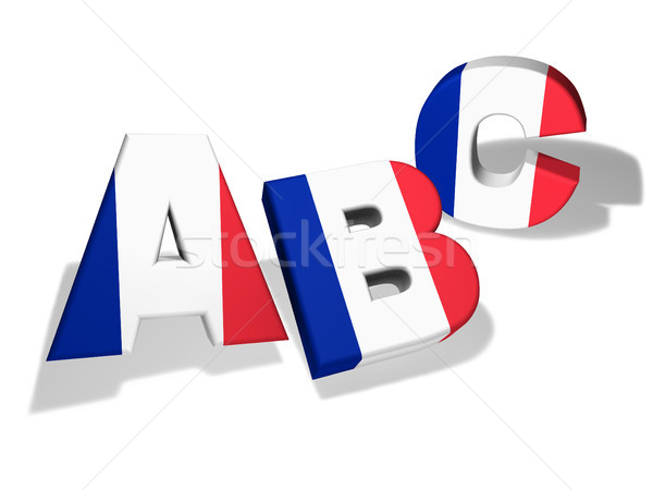 Abc French School Concept Stock photo © NiroDesign