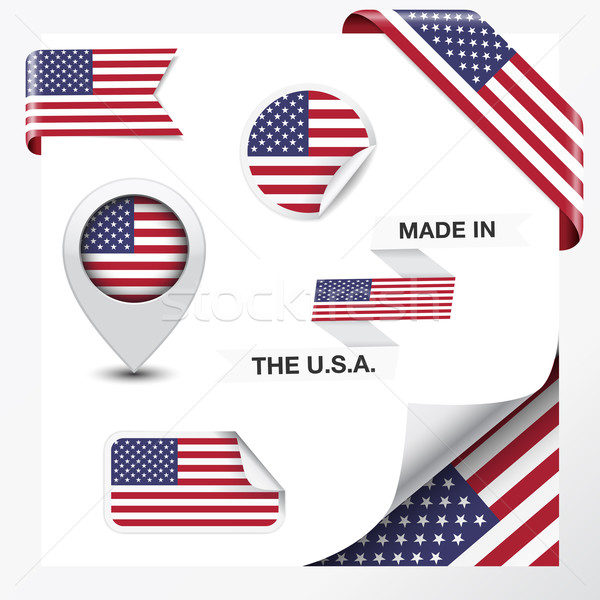 Made In The USA Collection Stock photo © NiroDesign