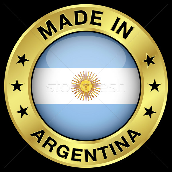 Made In Argentina Stock photo © NiroDesign