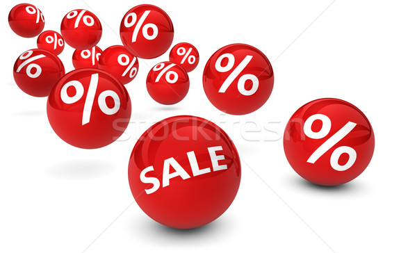 Shopping Sale Percent Discount Symbol Stock photo © NiroDesign