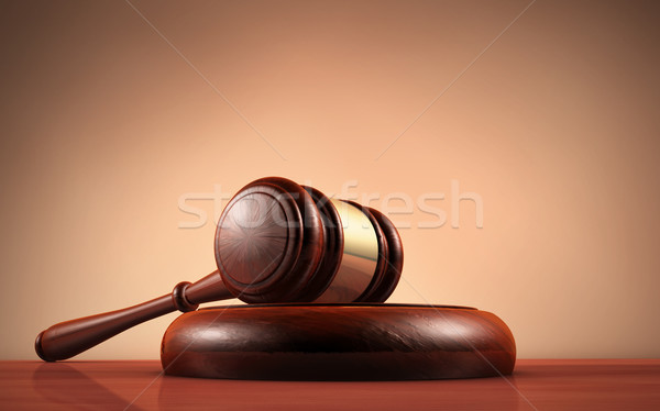 Law Judge And Justice Symbol Stock photo © NiroDesign
