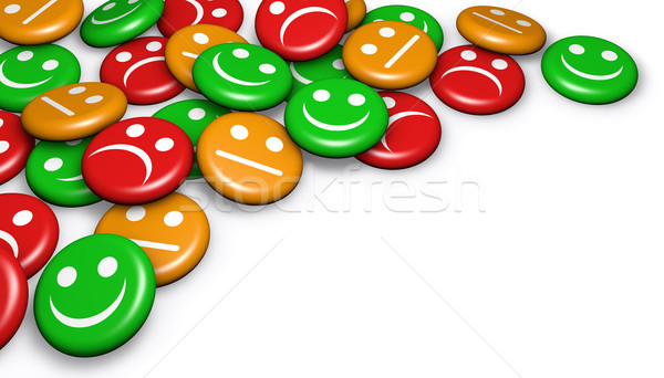 Customer Feedback Quality Satisfaction Stock photo © NiroDesign