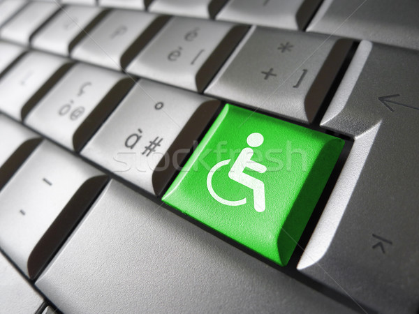 Website Accessibility Concept Stock photo © NiroDesign