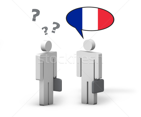 Business French Language Concept Stock photo © NiroDesign