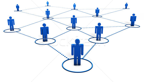 Social Network Concept Stock photo © NiroDesign