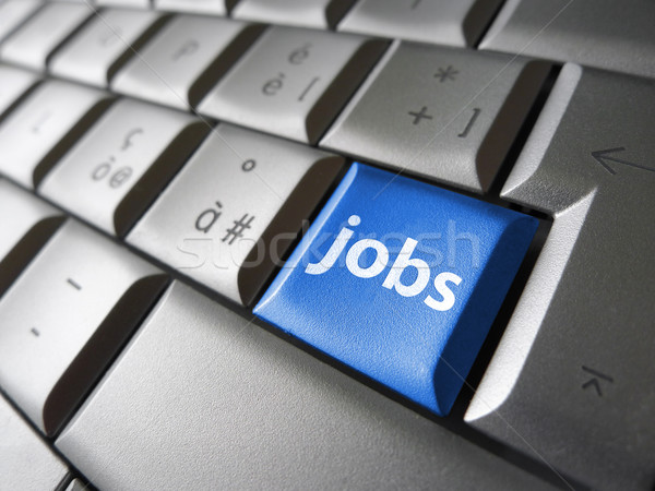 Online Jobs Search Concept Stock photo © NiroDesign