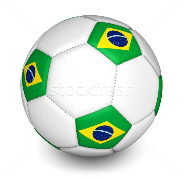 Brazil 2014 Football World Cup Soccer Ball Stock photo © NiroDesign