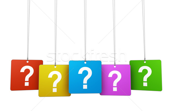 Question Mark And Faq Concept Stock photo © NiroDesign