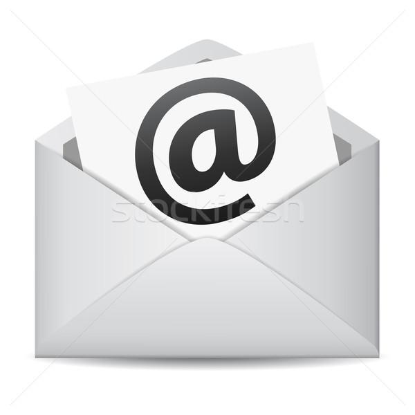 E-mail web contatto business Foto d'archivio © NiroDesign