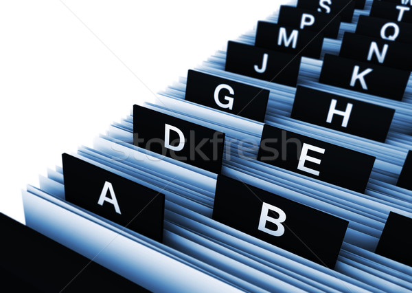Office Business Directory Stock photo © NiroDesign
