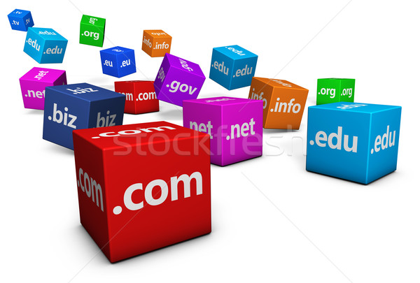 Web And Internet Domain Names Stock photo © NiroDesign