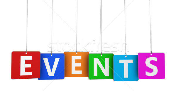 Events Sign Stock photo © NiroDesign