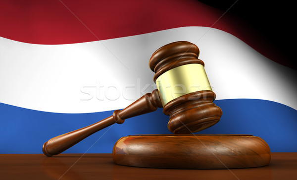 Netherlands Law And Dutch Justice Concept Stock photo © NiroDesign