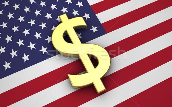 United States Economy USA Dollars Concept Stock photo © NiroDesign